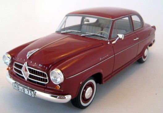 BoS - 1:18 - Borgward Isabella - Mint Boxed