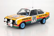 Sun Star - Schaal 1/18 - Ford Escort RS1800 #23 3rd RAC Rally 1977