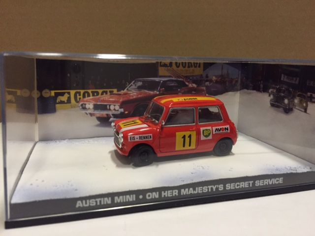 James Bond Collection Scale 143 12 Items Car Models From The