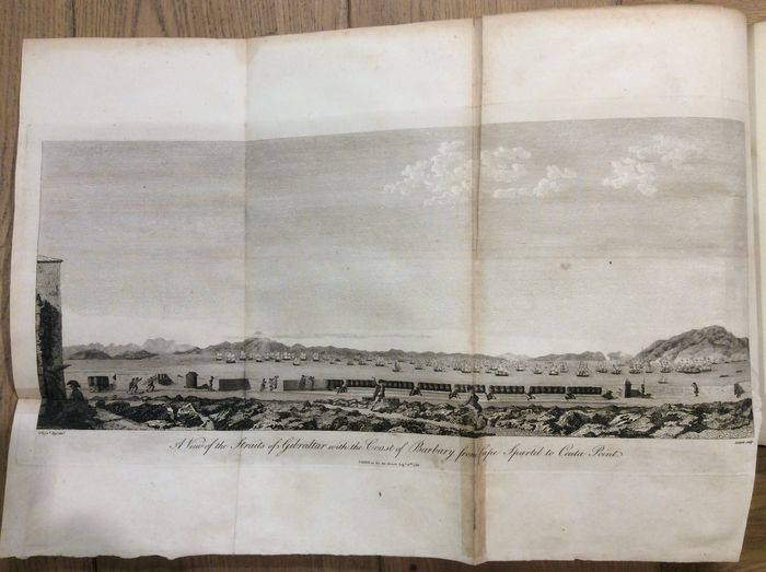 Ex-library; John Drinkwater - A history of the late siege of Gibraltar - 1790