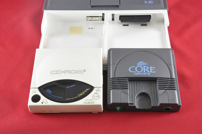 NEC PC Engine CD ROM 2 System, complete in box - Catawiki