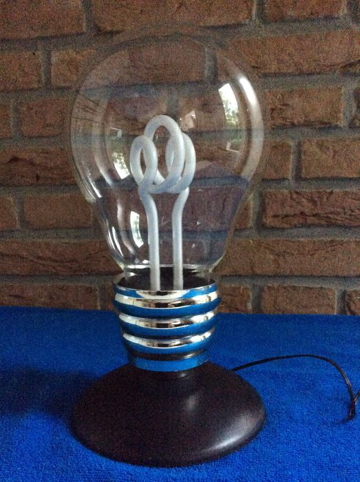 Table Lamp In The Shape Of A Light Bulb EDISON Neon Model