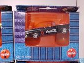 Voitures miniatures - Edocar - Chevrolet Bel Air Convertible 1957 'Coca-Cola'