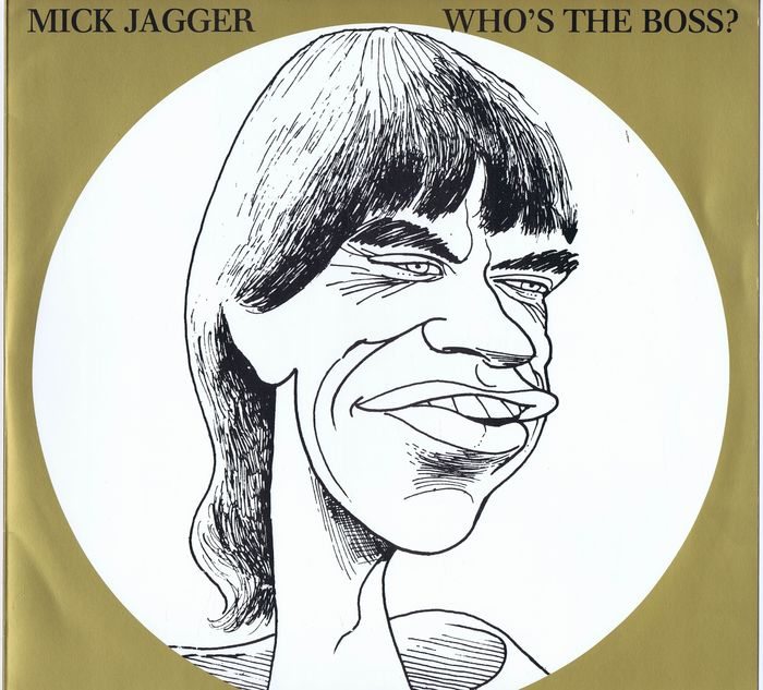 Mick Jagger 2lps Who S The Boss She S The Boss Mama