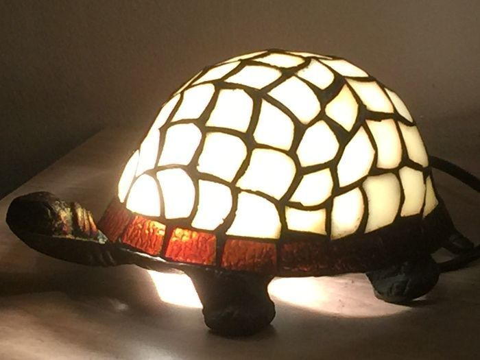 tortoise lighting. Tiffany Style Tortoise Lamp. Lighting