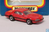 Voitures miniatures - Matchbox - Ford Thunderbird Turbo Coupe