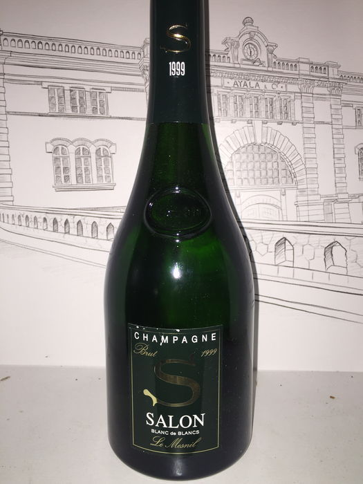 1999 Champagne Salon blanc de blancs brut - 1 bottle - Catawiki
