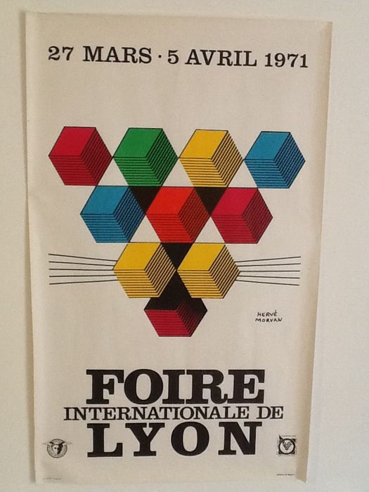 Herv morvan 39 foire internationale de lyon 39 1971 catawiki - Foire internationale de lyon ...