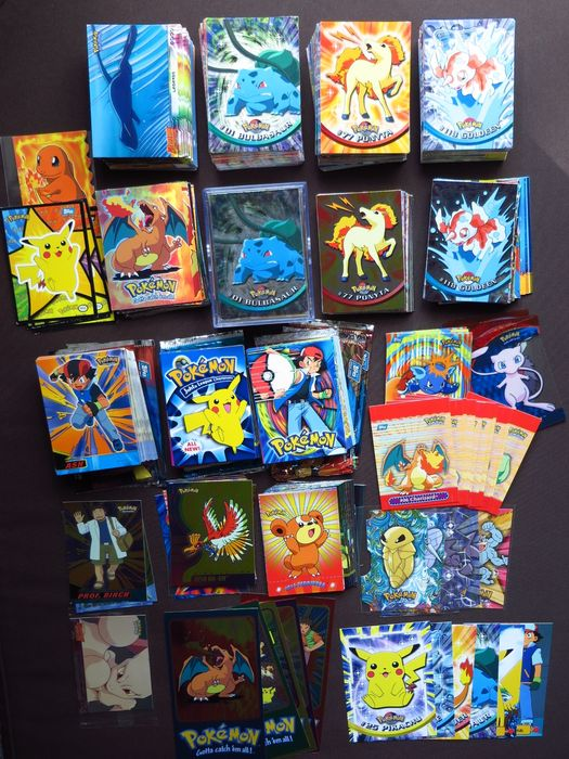 Pok 233 Mon Collection Of 750 Cards From 7 Different Topps Series Tv1 Tv2 Tv3 First Movie
