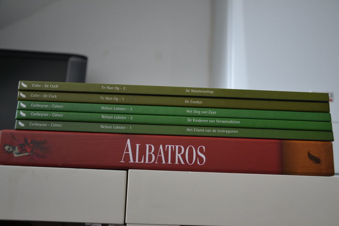 Albatros 1 to 3 in box - Nelson Lobster 1 to 3 - Tir Nan Og 1 to 2 - hc - 1st edition (2007/2010)