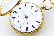 J. W. Benson (London) -- Pocket watch -- Lepine -- Year 1824.