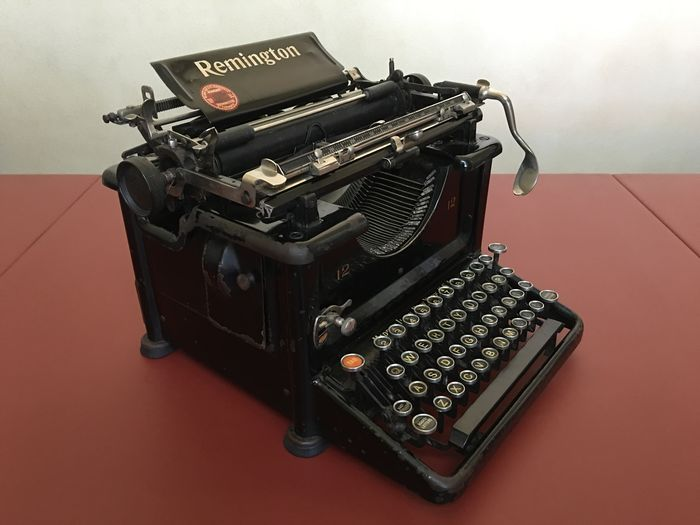 American clerical typewriter 'Remington Standart No. 12', Serial number...  Manufactored immediately after model No. 10. The most successful and  long-lived ...