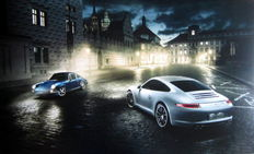 Porsche 911 The first and the latest 911 in the streets of Praque -  Foto : Frederic Schlosser