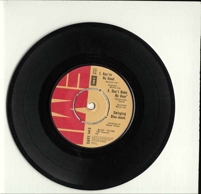 Swinging Blue Jeans - rare EP (UK) SIGNED by founder Ray Ennis and