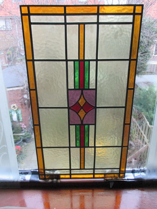Hedendaags 1930's - stained glass window. - Catawiki EV-85