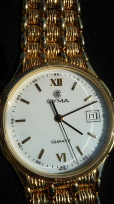 CYMA QUARTZ – Watch – Jewellery for men/unisex – 80/90s