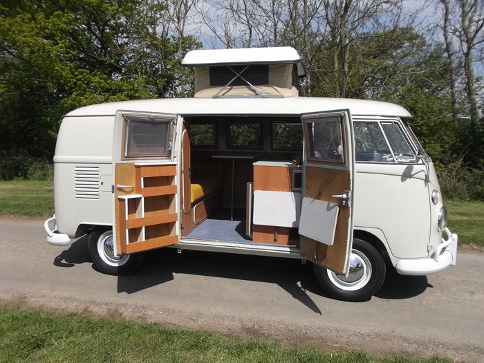 volkswagen westfalia so 42 camping car pare brise s par 1967 catawiki. Black Bedroom Furniture Sets. Home Design Ideas