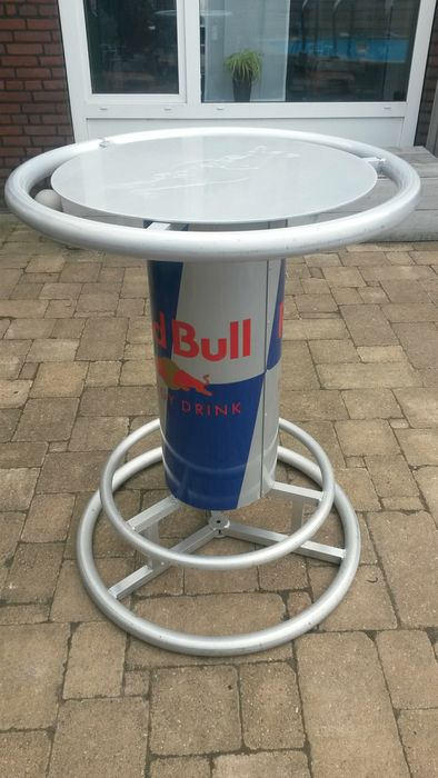 red bull racing standing table bar table h 110 cm