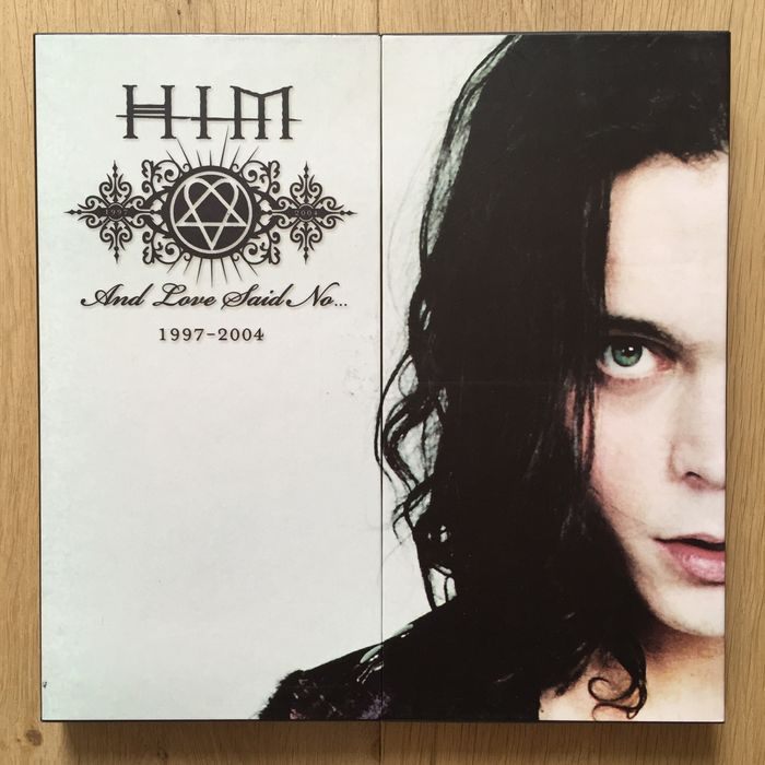 HIM - And Love Said No... 1997-2004 Rare Box Set with 5 LP's