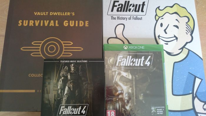 fallout 4 limited edition survival guide fallout 3 fallout