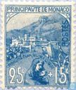 Postage Stamps - Monaco - French War Widows and Orphans