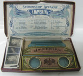 Siehe unsere Tin folding stereoscope set  D.R.G.M. Imperial Chocolates-1905
