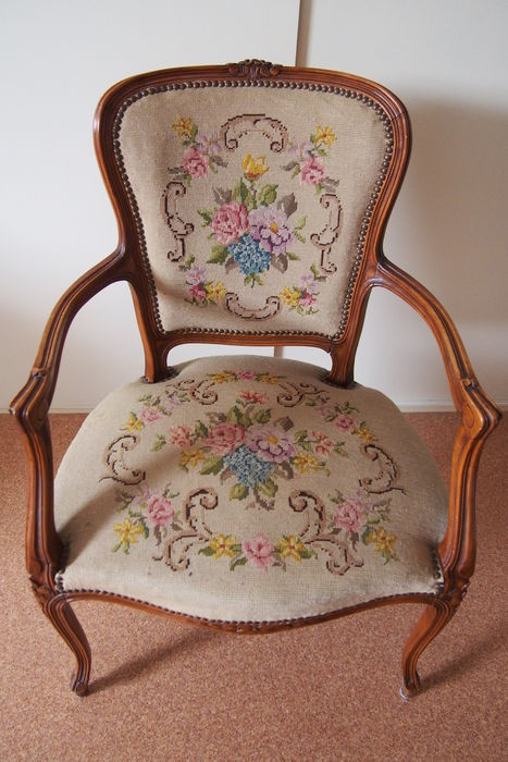 Queen Anne Chair   Early 20th Century
