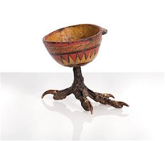 Great libations cup, on a bird's leg - NUOSU - Southern China