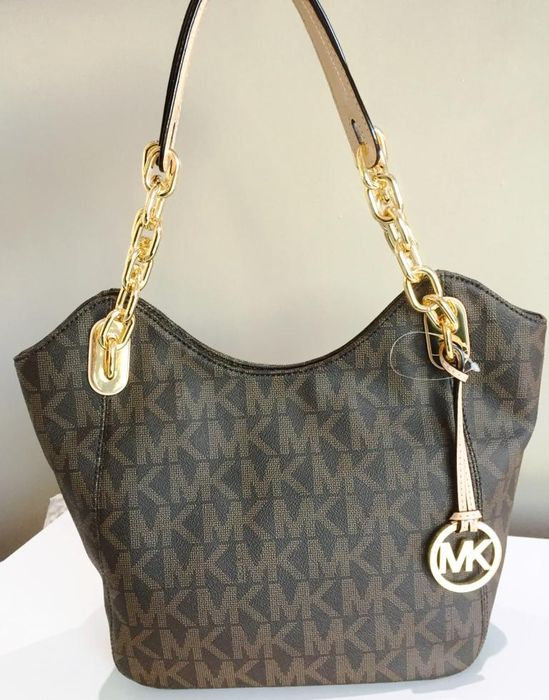 e7270982c835 Michael Kors Lilly – Medium – Bag / Shopper / Tote – With chain ...