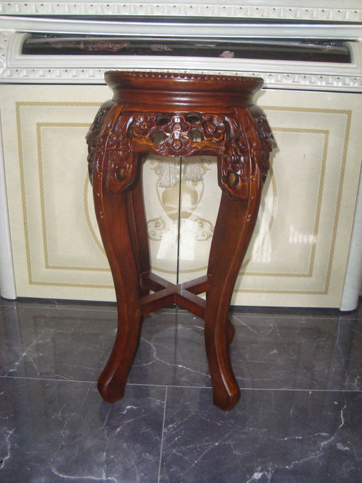 Handmade side table teak china catawiki for Nfpa 99 table 5 1 11