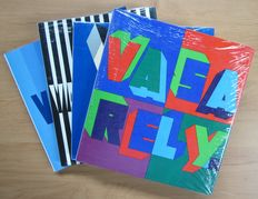 Op-Art; Vasarely - Complete set of 4 books - Volumes I, II, II and IV - 1965 / 1979
