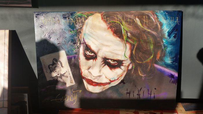 Stephan evenblij heath ledger als the joker catawiki for Stephan evenblij