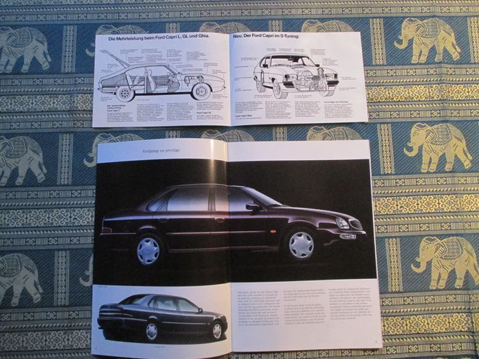 car leaflets ford 19x 1964 2003 catawiki. Black Bedroom Furniture Sets. Home Design Ideas