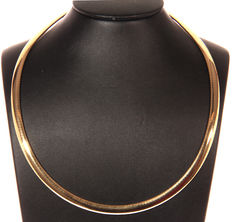 Gold necklace model Omega - New - 39.1 g - 45 cm