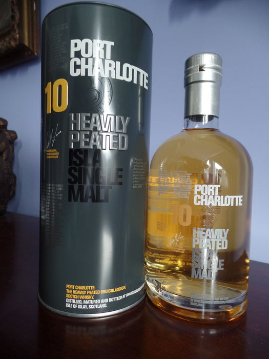 Bruichladdich port charlotte 10 years old heavily peated - Bruichladdich port charlotte heavily peated ...