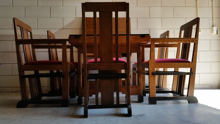 6 piece dining room furniture set in hague amsterdam for Dining room furniture auctions