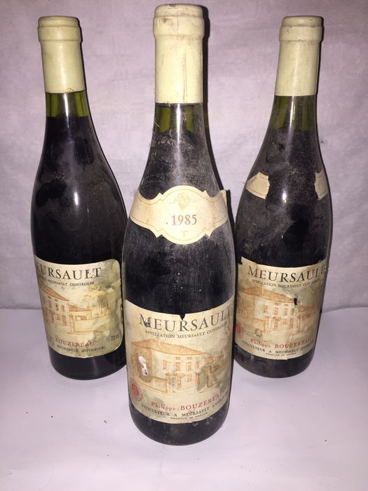 1985 Meursault (red wine) Philippe Bouzereau