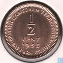 British Caribbean Territories ½ cent 1955