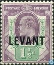 King Edward VII with print