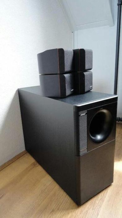 beautiful bose acoustimass 5 series ii catawiki. Black Bedroom Furniture Sets. Home Design Ideas