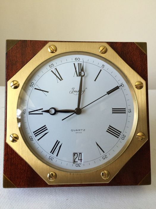 Swiss Table Or Wall Clock By Imhof 1900s Catawiki