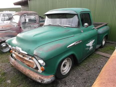 Chevrolet - Short Bed Pick Up Truck 1/2 Ton - 1957