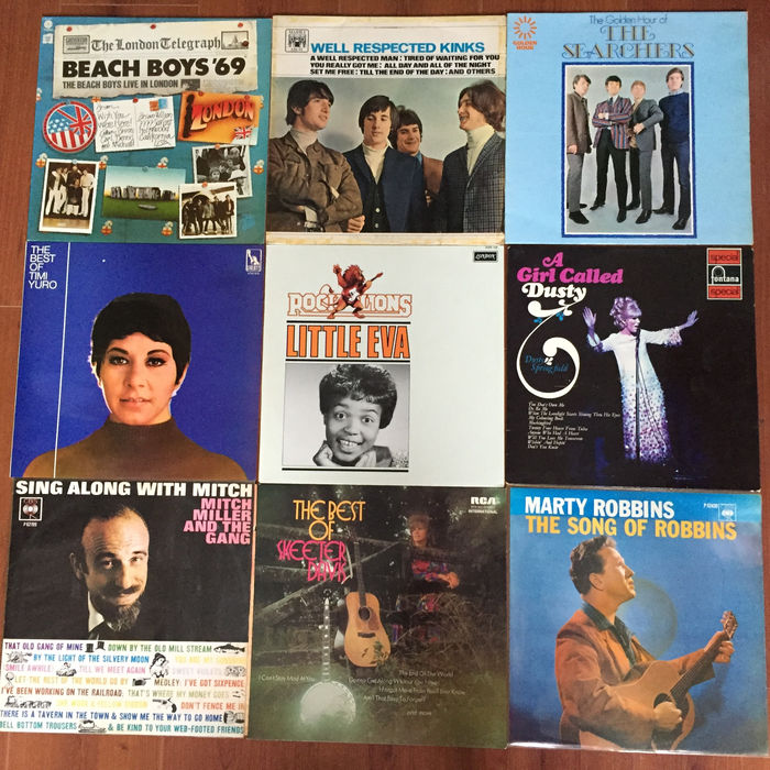 Various 60s male and female singers and pop-groups - lot of 11 great