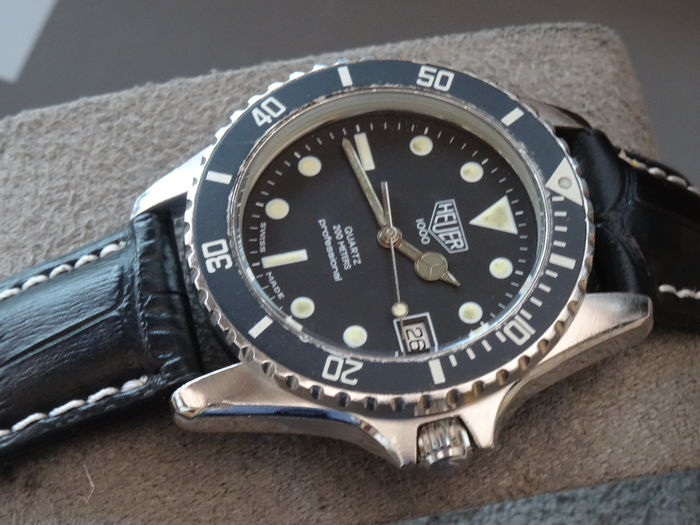 the best attitude 4e702 8924a HEUER 1000 PRE TAG HEUER WATCH - Catawiki