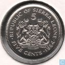 Sierra Leone 5 cents 1984