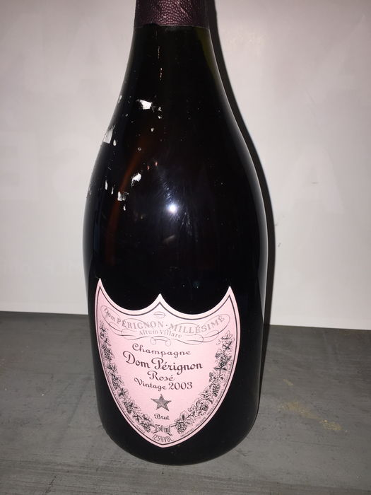 2003 champagne rose dom perignon brut 1 bouteille catawiki. Black Bedroom Furniture Sets. Home Design Ideas