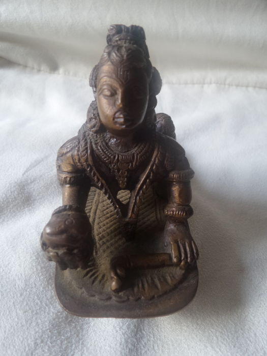 Asian old statue