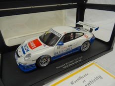AUTOart - Scale 1/18 - Porsche 911 Type 997 GT3 Cup PCCA Winner 2006 Blue Girl #88