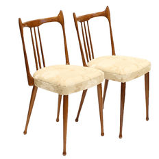 Furniture factory Stevens - 2 special 1960s chairs