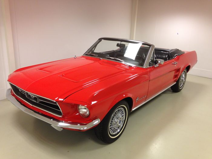 Ford - Mustang Convertible - 1967